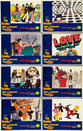 "Movie Posters:Animated, Yellow Submarine (United Artists, 1968). Lobby Card Set of 8 (11"" X14"").. ... (Total: 8 Items)"