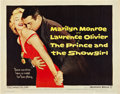 "Movie Posters:Romance, The Prince and the Showgirl (Warner Brothers, 1957). Half Sheet(22"" X 28"").. ..."