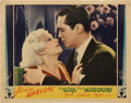 """Movie Posters:Comedy, The Girl From Missouri (MGM, 1934). Lobby Card (11"""" X 14"""").. ..."""