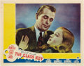"""Movie Posters:Crime, The Glass Key (Paramount, 1935). Lobby Card (11"""" X 14"""").. ..."""