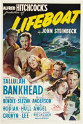 "Movie Posters:Hitchcock, Lifeboat (20th Century Fox, 1944). One Sheet (27"" X 41"").. ..."