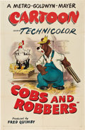 "Movie Posters:Animated, Cobs and Robbers (MGM, 1953). One Sheet (27"" X 41"").. ..."