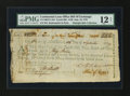 Colonial Notes:Continental Congress Issues, Continental Loan Office Bill of Exchange Fourth Bill- $120 Sept.10, 1779 Anderson US-100/PA-10A. PMG Fine 12 Net....