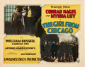 Movie Posters:Crime, The Girl From Chicago (Warner Brothers, 1927) and State StreetSadie (Warner Brothers, 1928). Title Lobby Cards and Lobb...(Total: 2 Items)
