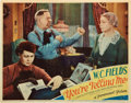 "Movie Posters:Comedy, You're Telling Me (Paramount, 1934). Lobby Card (11"" X 14"").. ..."