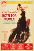 "Movie Posters:Drama, Hotel for Women (20th Century Fox, 1939). Poster (40"" X 60"").. ..."