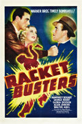 "Movie Posters:Crime, Racket Busters (Warner Brothers, 1938). One Sheet (27"" X 41"").. ..."