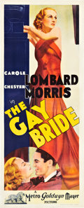 """Movie Posters:Comedy, The Gay Bride (MGM, 1934). Pre-War Australian Daybill (15"""" X37.5"""").. ..."""