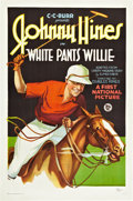 "Movie Posters:Comedy, White Pants Willie (First National, 1927). One Sheet (27"" X 41"")....."