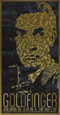 """Movie Posters:James Bond, Goldfinger (United Artists, 2007). Limited Edition Poster (17.5"""" X34"""").. ..."""