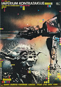 "Movie Posters:Science Fiction, The Empire Strikes Back (20th Century Fox, 1980). Polish One Sheet(18.5"" x 26.5"").. ..."