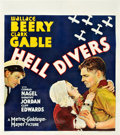 "Movie Posters:Adventure, Hell Divers (MGM, 1932). Three-Quarter Sheet (27"" X 30.5"").. ..."