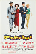 "Movie Posters:Musical, Guys and Dolls (MGM, 1955). One Sheet (28"" X 42"").. ..."