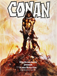 "Conan the Barbarian (Universal, 1980). Poster (30"" X 40"") Advance"