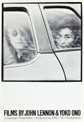"Movie Posters:Documentary, Films by John Lennon and Yoko Ono (Joko, 1972). One Sheet (27"" X39"").. ..."