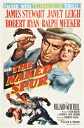 "Movie Posters:Western, The Naked Spur (MGM, 1953). One Sheet (27"" X 41"").. ..."