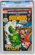 Bronze Age (1970-1979):Superhero, Marvel Feature #3 Defenders (Marvel, 1972) CGC NM+ 9.6 Off-white towhite pages....