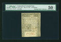 Colonial Notes:Connecticut, Connecticut May 10, 1775 40s PMG About Uncirculated 50 EPQ....