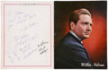 Music Memorabilia:Autographs and Signed Items, Willie Nelson and Others Signed Tour Book (1967)....