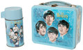 Music Memorabilia:Memorabilia, The Beatles Metal Lunchbox with Thermos.... (Total: 2 )