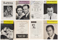 Movie/TV Memorabilia:Autographs and Signed Items, Julie Andrews, Rex Harrison, and Others Cast and Crew-Signed Playbills (1950s-'60s).... (Total: 8 Items)