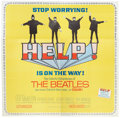 Music Memorabilia:Posters, The Beatles Help! Six-Sheet Movie Poster (United Artists,1965).... (Total: 4 Items)