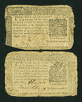 Colonial Notes:New York, Two New York August 13, 1776 Notes.... (Total: 2 notes)