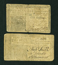 Colonial Notes:New Jersey, Two New Jersey December 31, 1763 Notes.... (Total: 2 notes)