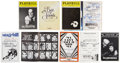 Movie/TV Memorabilia:Autographs and Signed Items, John Gielgud, Jessica Tandy, Hume Cronyn, and Others AutographedPlaybills from the 1980s-'90s.... (Total: 8 Items)