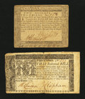 Colonial Notes:Maryland, Two Maryland Colonials.... (Total: 2 notes)
