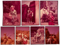Movie/TV Memorabilia:Photos, Roy Rogers, Dale Evans, and Gene Autry Rare Color Transparencies by Roger Davidson.... (Total: 7 Items)