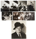 Movie/TV Memorabilia:Photos, Claude Rains Assorted Vintage Publicity Stills.... (Total: 8 Items)