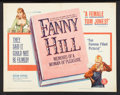 """Movie Posters:Bad Girl, Fanny Hill (Famous Players Corp., 1965). Half Sheet (22"""" X 28""""). Bad Girl.. ..."""