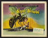 "The Wasp Woman (Film Group, 1959). Title Lobby Card (11"" X 14""). Science Fiction"