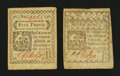 Colonial Notes:Connecticut, Two Connecticut October 11, 1777 Notes.... (Total: 2 notes)