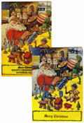 Silver Age (1956-1969):Classics Illustrated, Classics Giveaways A Christmas Adventure Group (Gilberton,1969).... (Total: 2 Comic Books)