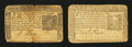 Colonial Notes:New York, Two New York September 2, 1775 Notes.... (Total: 2 notes)