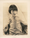 "Movie Posters, Louise Brooks by George Hommel (Paramount, 1920s). Portrait (11"" X14"").. ..."