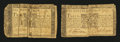 Colonial Notes:Maryland, Two Maryland January 1, 1767 $1 Notes.... (Total: 2 notes)
