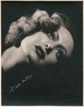 """Movie Posters:Drama, Joan Crawford in """"Rain"""" by John Miehle (United Artists, 1932).Portrait (10.75"""" X 13.75"""").. ..."""