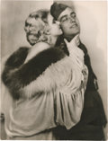 """Movie Posters:War, Jean Harlow and James Hall in """"Hell's Angels"""" (United Artists,1930). Photo (8.5"""" X 11.25"""").. ..."""