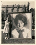 """Movie Posters:Miscellaneous, Clara Bow by Eugene Robert Richee (Paramount, 1928). Photo (8"""" X 10"""").. ..."""