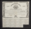 Confederate Notes:Group Lots, Ball 72 Cr. 34 $100 Bond 1861 Fine.. ...