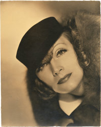 "Greta Garbo in ""Grand Hotel"" by Clarence Sinclair Bull (MGM, 1932). Portrait (10"" X 13"")"