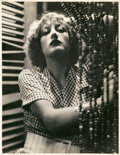 """Movie Posters:Drama, Joan Crawford in """"Rain"""" by John Miehle (United Artists, 1932).Portrait (10.75"""" X 14"""").. ..."""