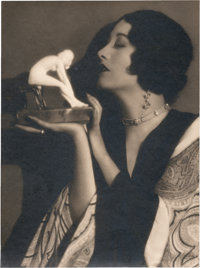 """Joan Crawford by Ruth Harriet Louise (MGM, 1920s). Portrait (9"""" X 12"""")"""