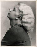 "Movie Posters:Miscellaneous, Jean Harlow by Irving Chidnoff (1931). Portrait (11"" X 14"").. ..."