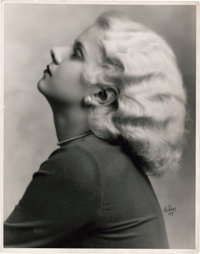 """Jean Harlow by Irving Chidnoff (1931). Portrait (11"""" X 14"""")"""