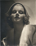 "Movie Posters:Miscellaneous, Jean Harlow by George Hurrell (1930s). Portrait (10.25"" X 13.25"")....."