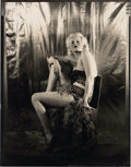 "Movie Posters:Miscellaneous, Jean Harlow (circa 1930s). Contact Print (6.5"" X 8.5"").. ..."